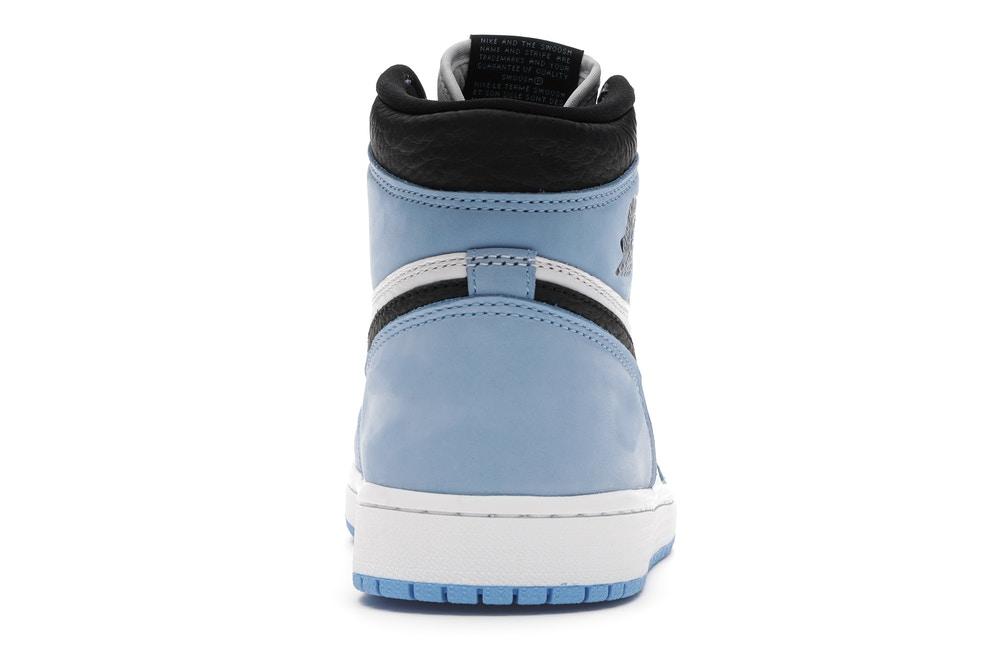 slide 4 - Jordan 1 Retro High White University Blue Black