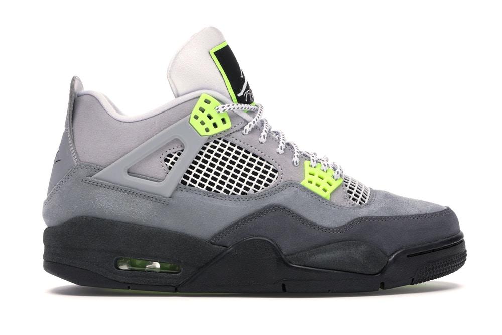 slide 1 - Jordan 4 Retro SE 95 Neon
