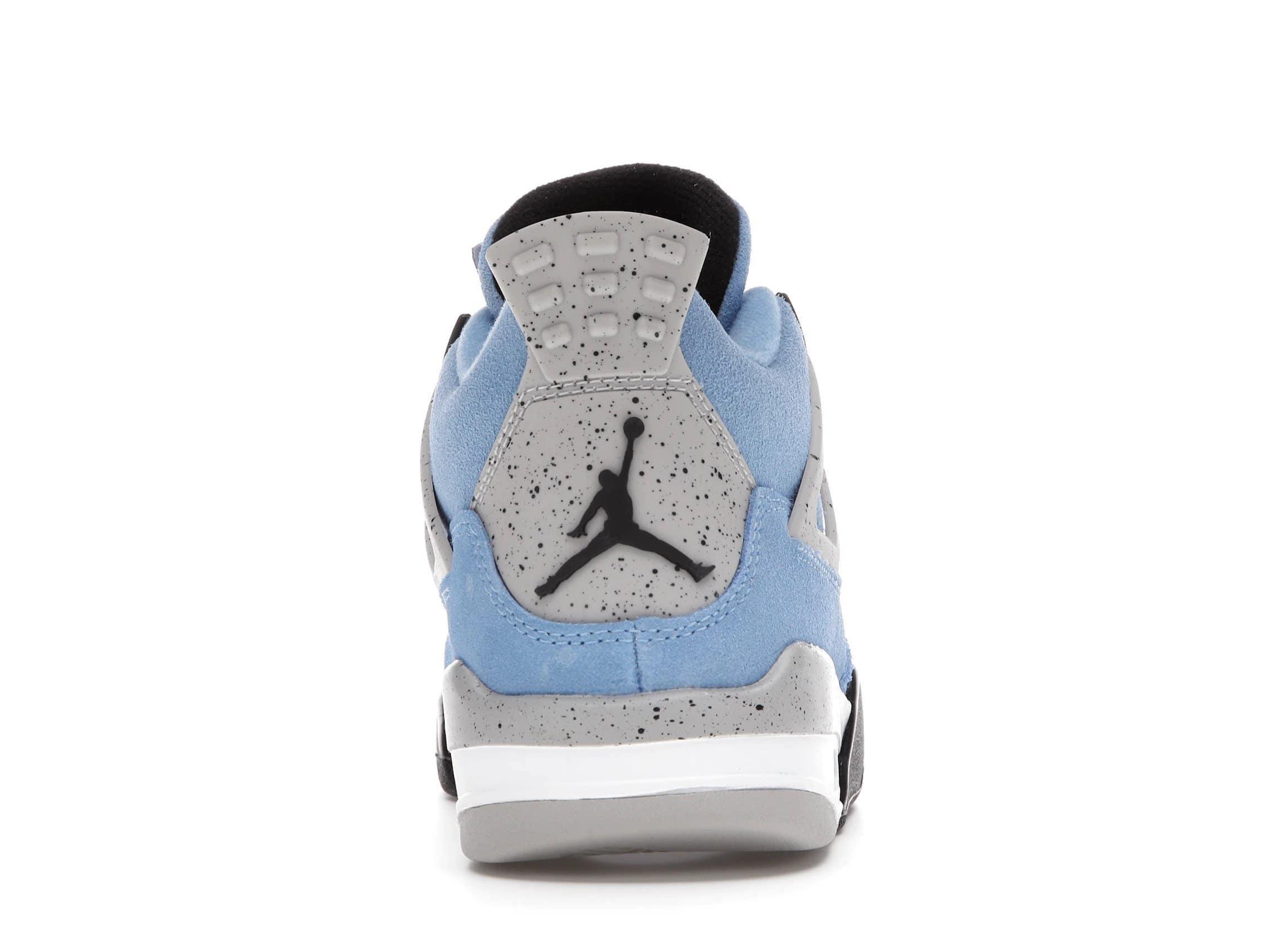 slide 4 - Jordan 4 Retro University Blue (GS)