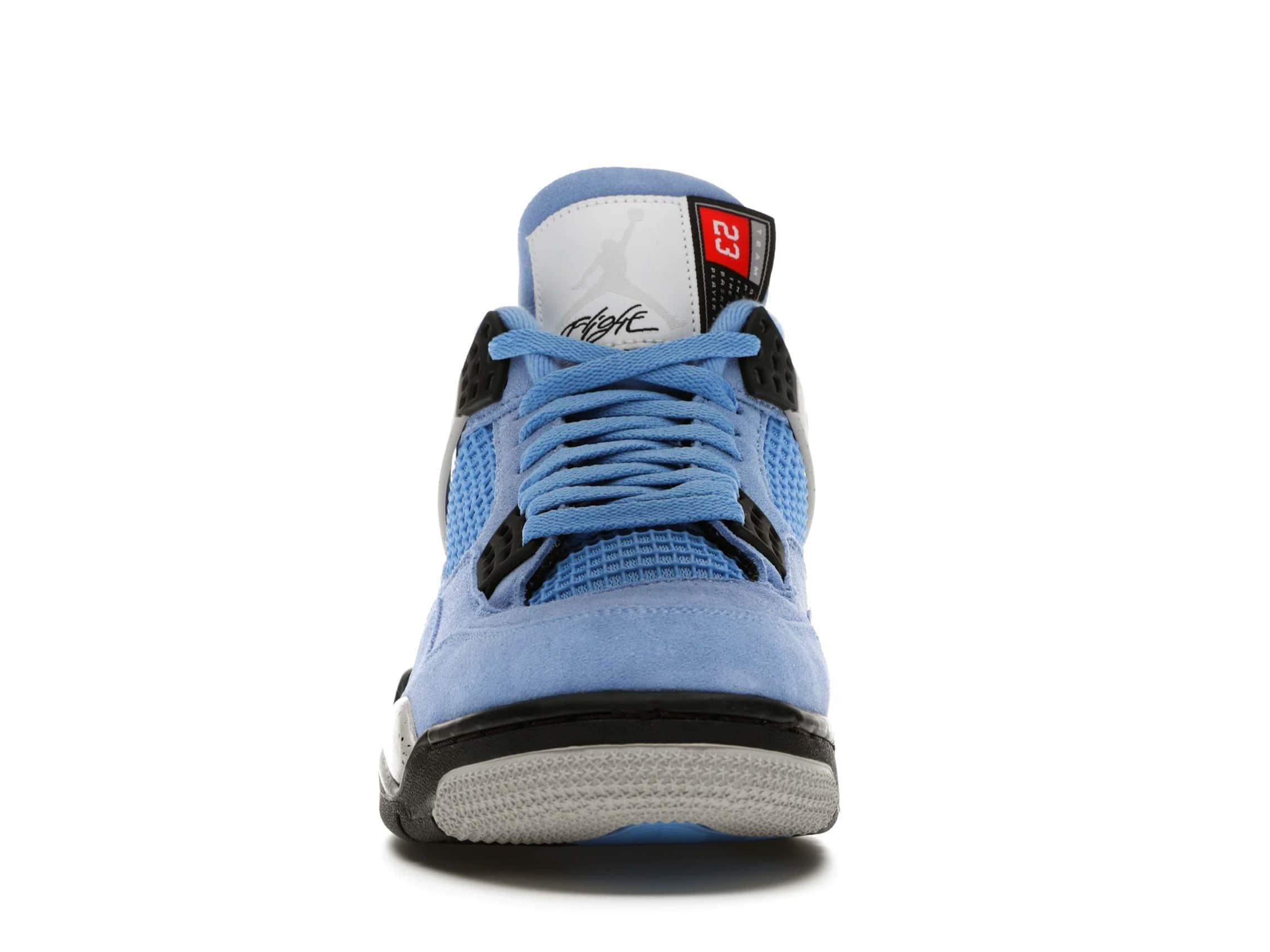 slide 2 - Jordan 4 Retro University Blue