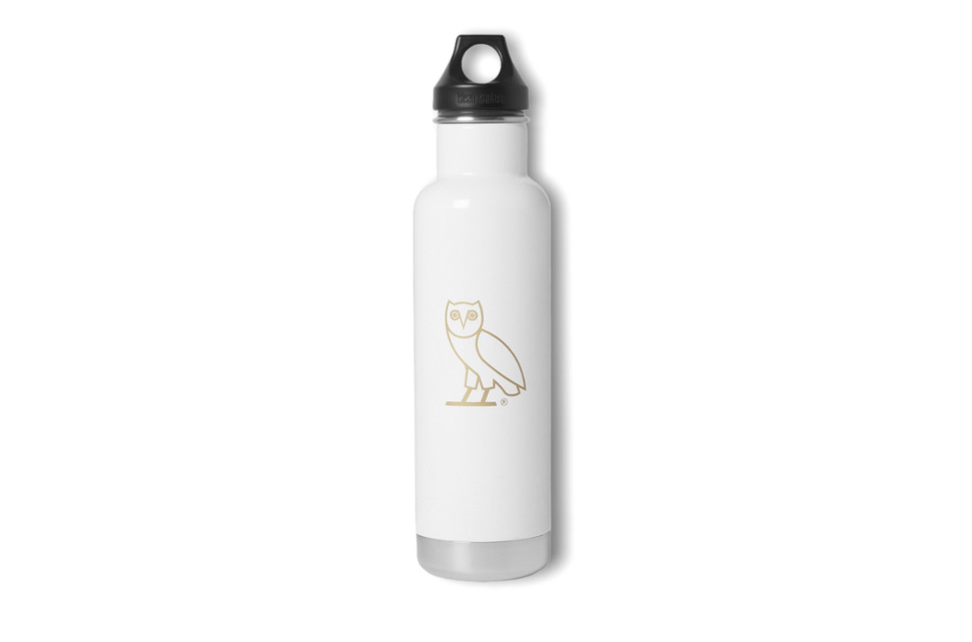 slide 1 - Kanteel Owl White Water Bottle (Large)