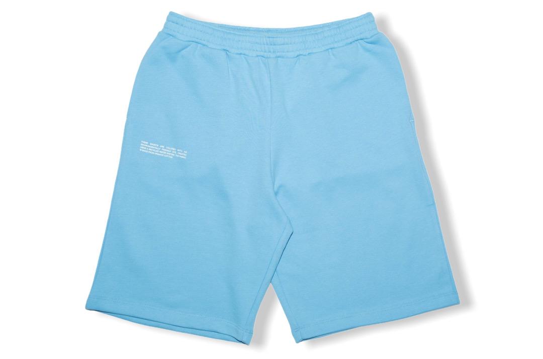 slide 1 - Lightweight Organic Cotton Long Shorts - JUST Blue