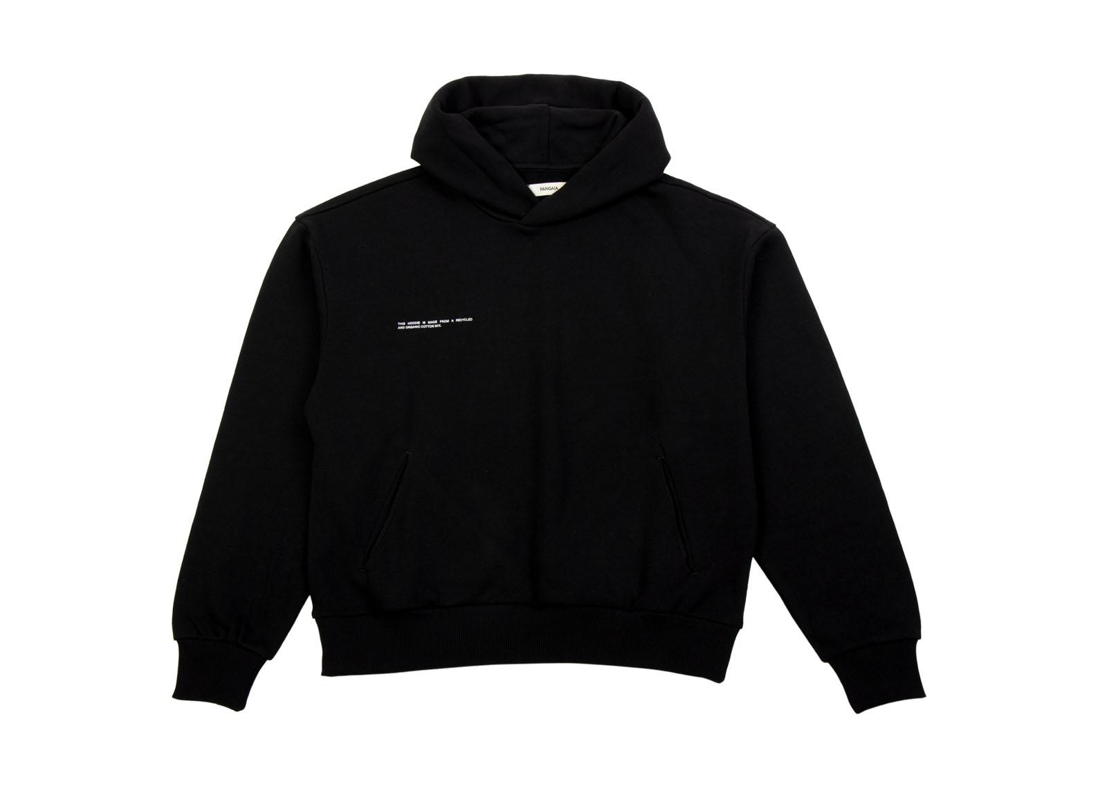 slide 1 - Lightweight Cotton Hoodie - Black