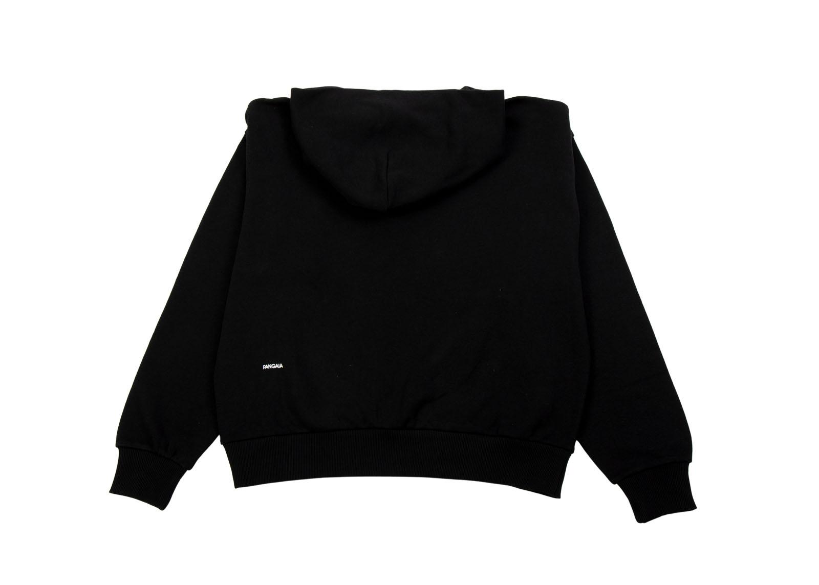 slide 2 - Lightweight Cotton Hoodie - Black