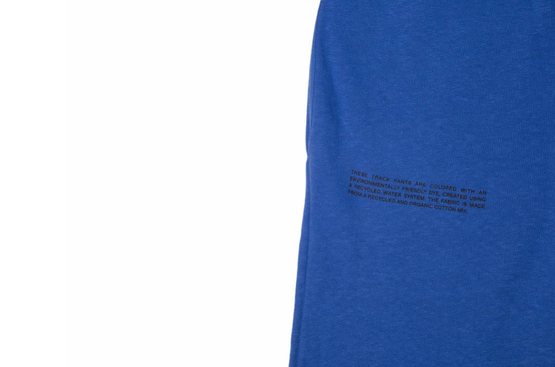 slide 3 - Lightweight Cotton Track Pants - Cobalt Blue