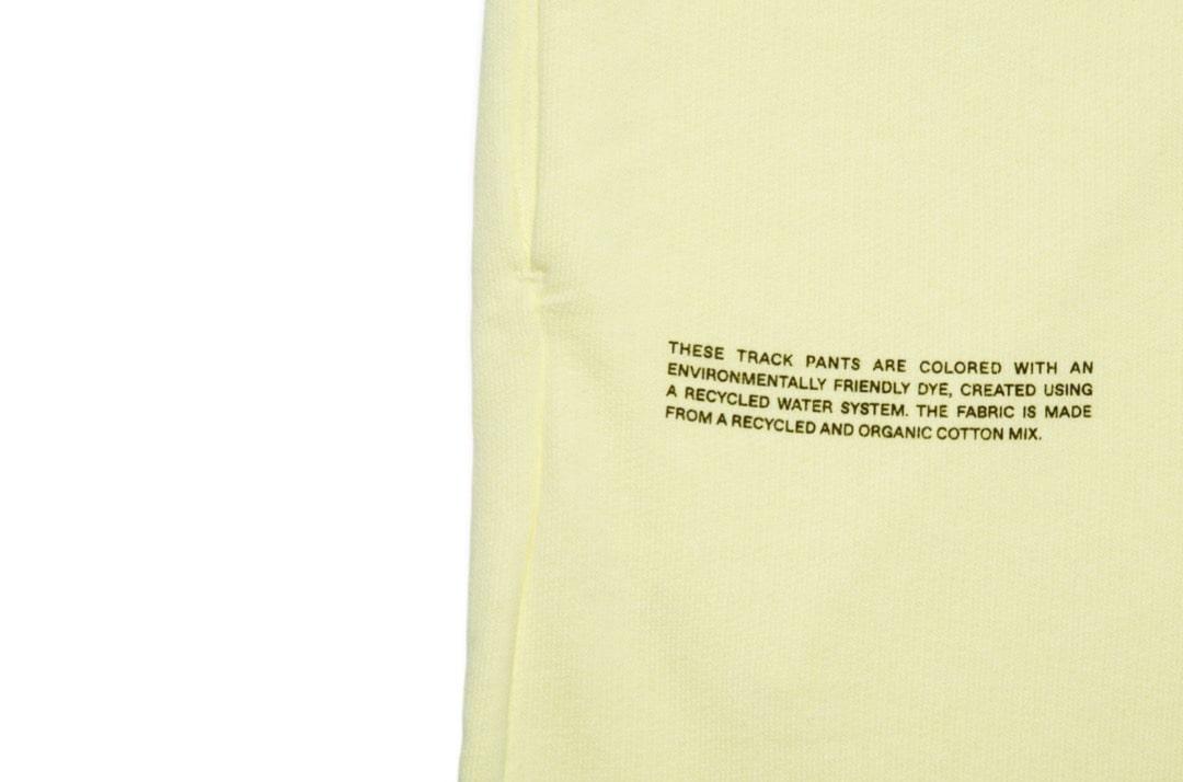 slide 3 - Lightweight Cotton Track Pants - Hay Yellow