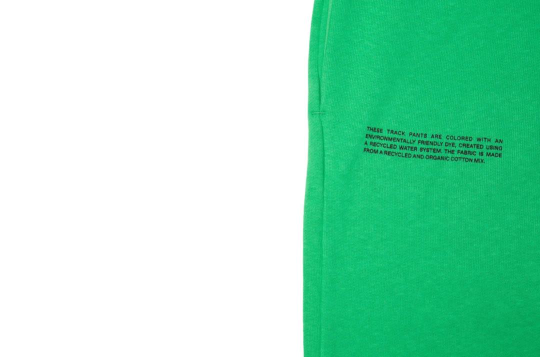 slide 3 - Lightweight Cotton Track Pants - Jade Green