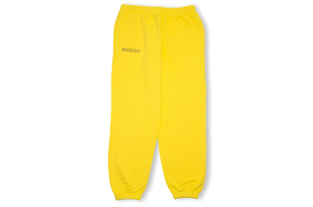 slide 1 - Lightweight Cotton Track Pants - Saffron Yellow