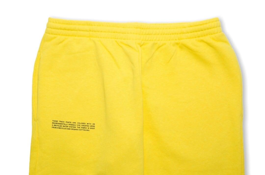 slide 2 - Lightweight Cotton Track Pants - Saffron Yellow