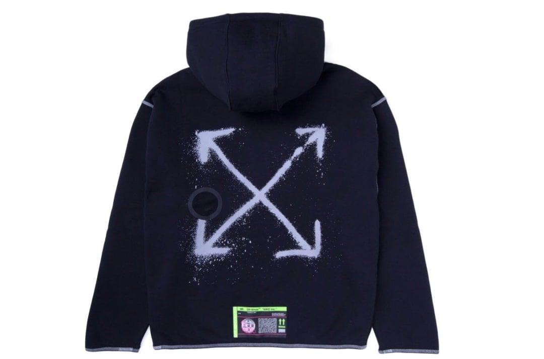 slide 1 - Nike X Off-White Black Hoodie