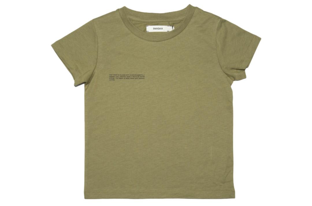 slide 1 - Olive Organic Cotton Tshirt