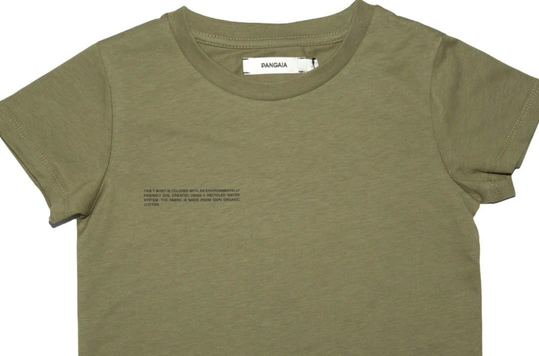 slide 2 - Olive Organic Cotton Tshirt
