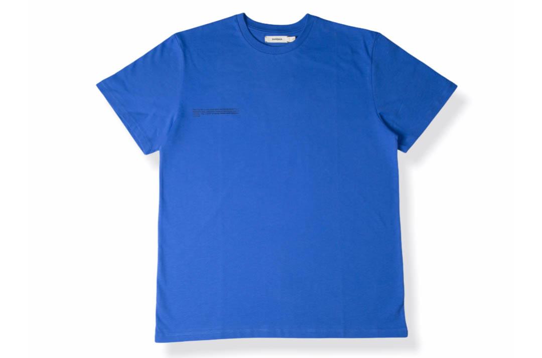 slide 1 - Organic Cotton Tshirt - Cobalt Blue