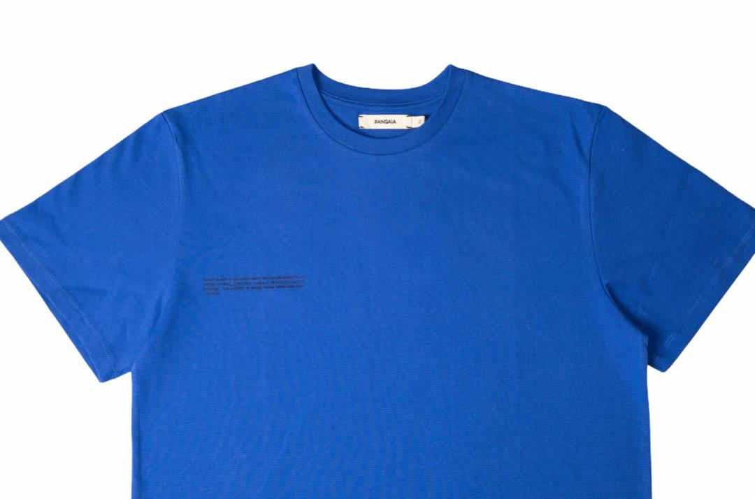 slide 2 - Organic Cotton Tshirt - Cobalt Blue