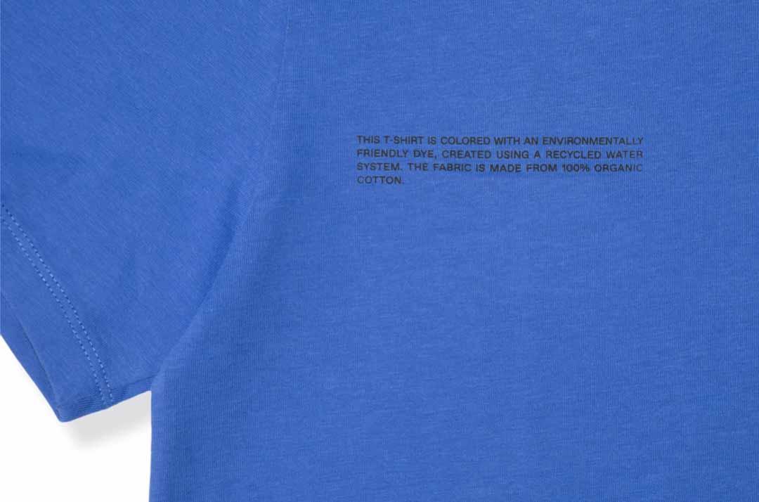 slide 3 - Organic Cotton Tshirt - Cobalt Blue