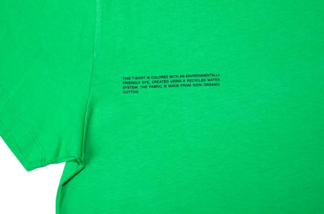 slide 2 - Organic Cotton Tshirt - Jade Green