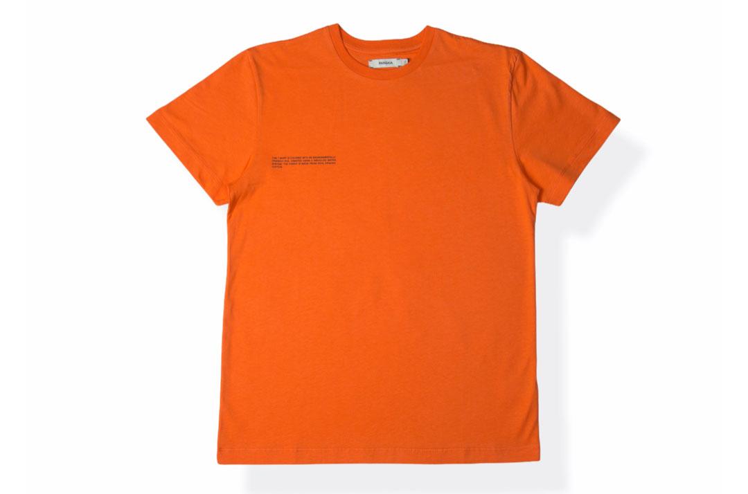 slide 1 - Organic Cotton Tshirt - Persimmon Orange