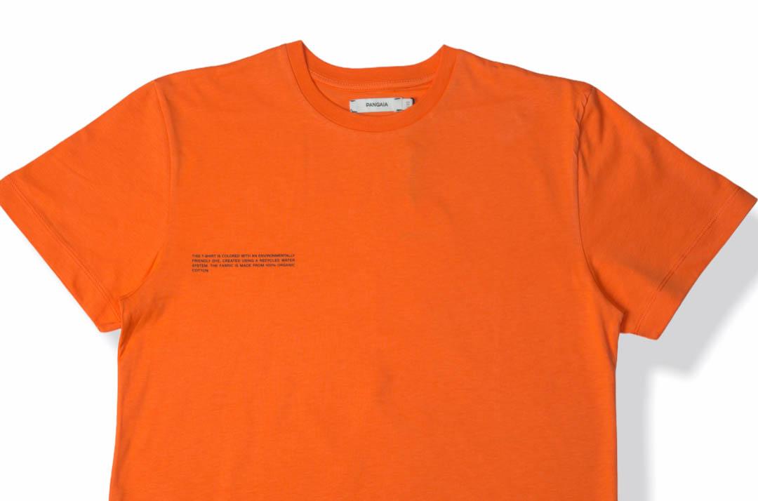 slide 2 - Organic Cotton Tshirt - Persimmon Orange