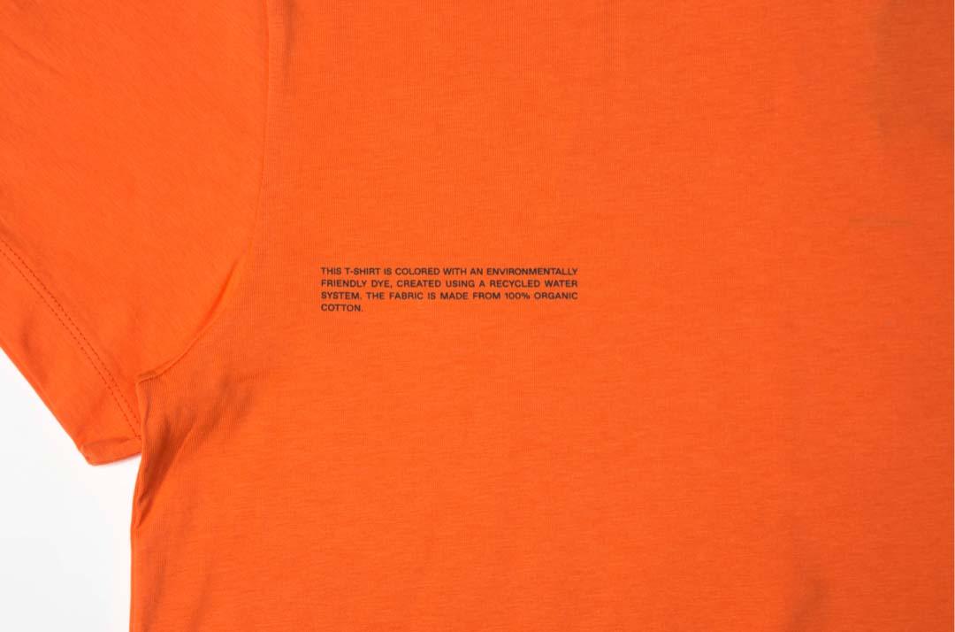 slide 3 - Organic Cotton Tshirt - Persimmon Orange