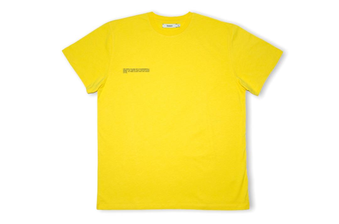 slide 1 - Organic Cotton Tshirt - Saffron Yellow