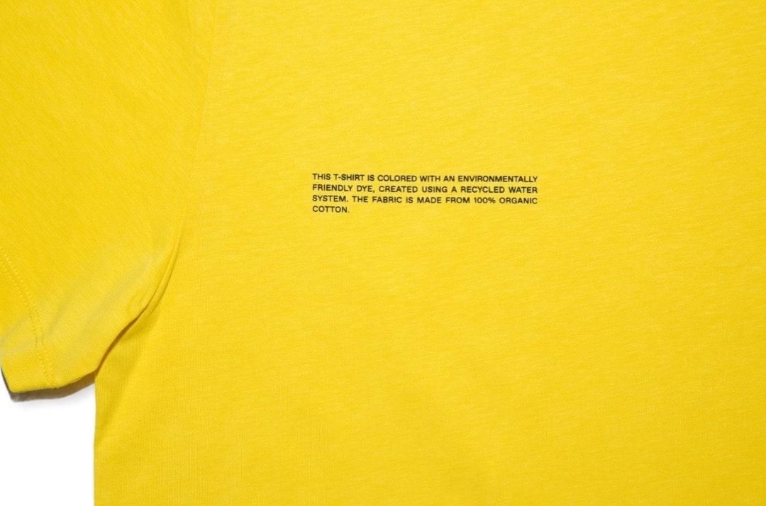 slide 2 - Organic Cotton Tshirt - Saffron Yellow