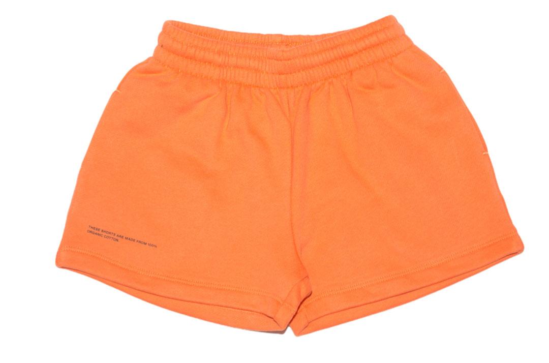 slide 1 - Persimmon Orange Organic Cotton Shorts