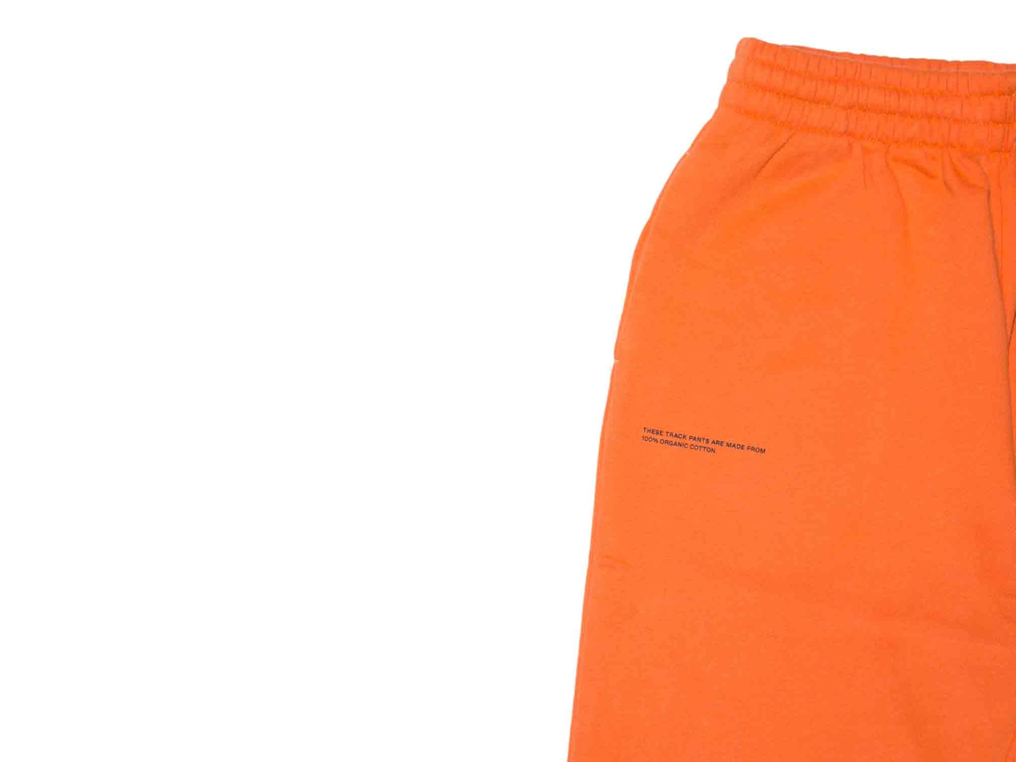 slide 2 - Persimmon Orange Organic Cotton Track Pants