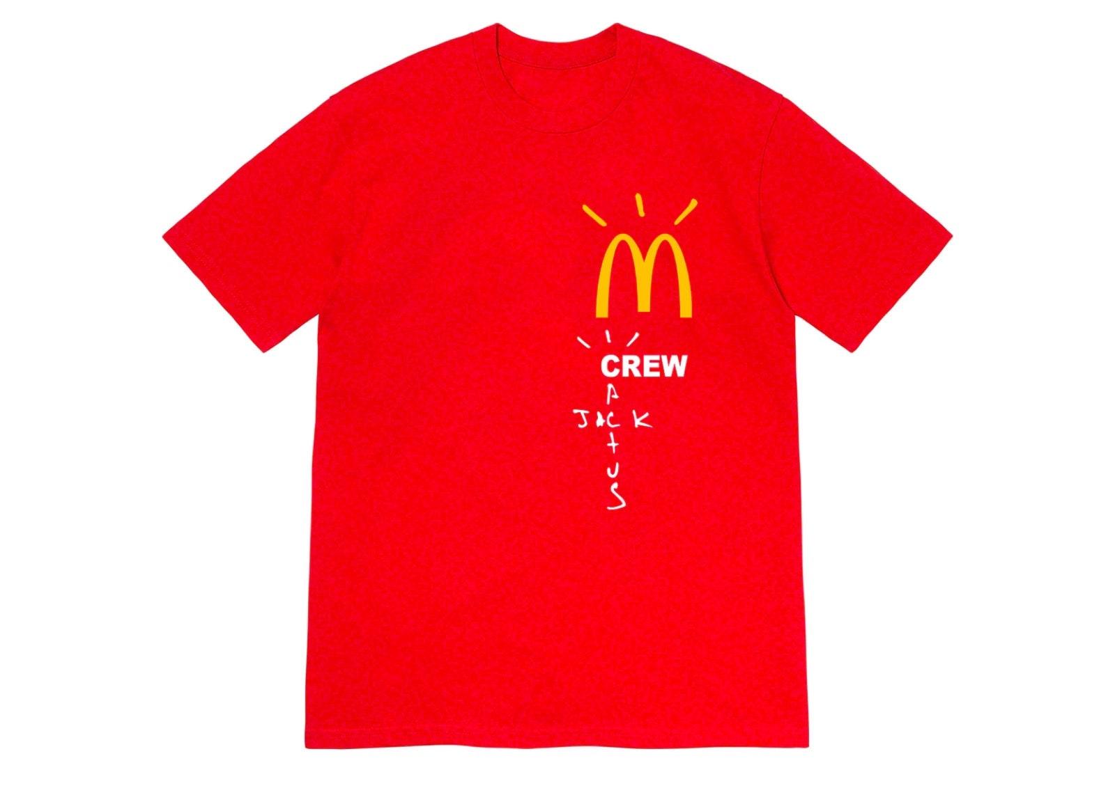 slide 1 - Red Crew Tshirt