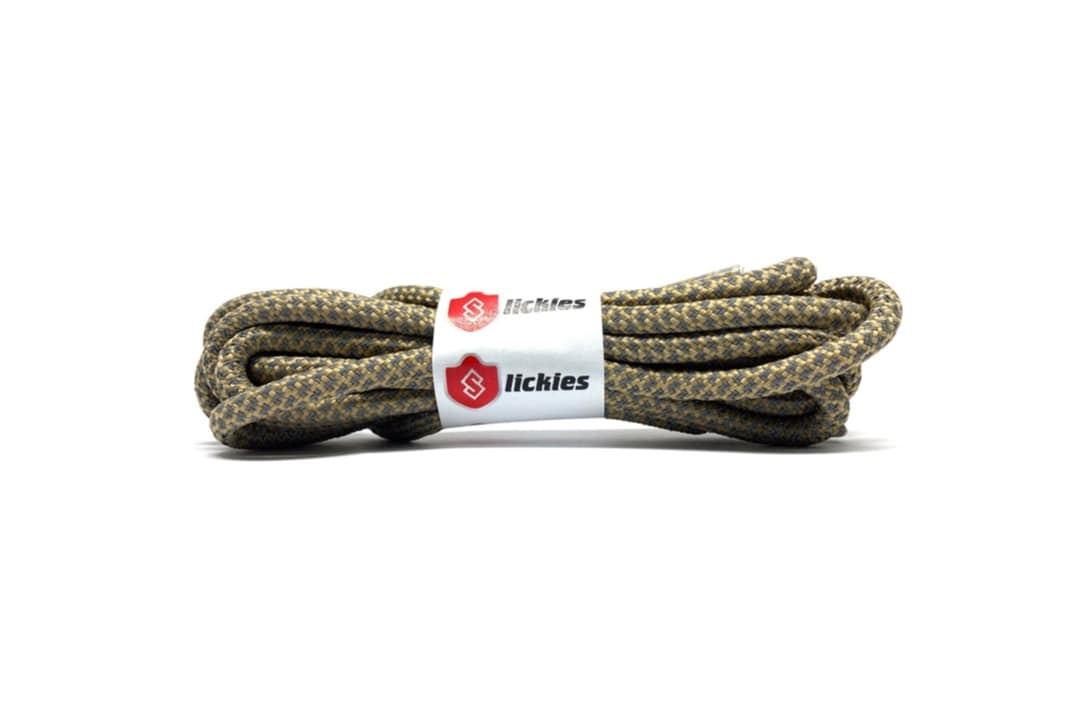 slide 1 - Reflective Rope Laces - Brown Earth