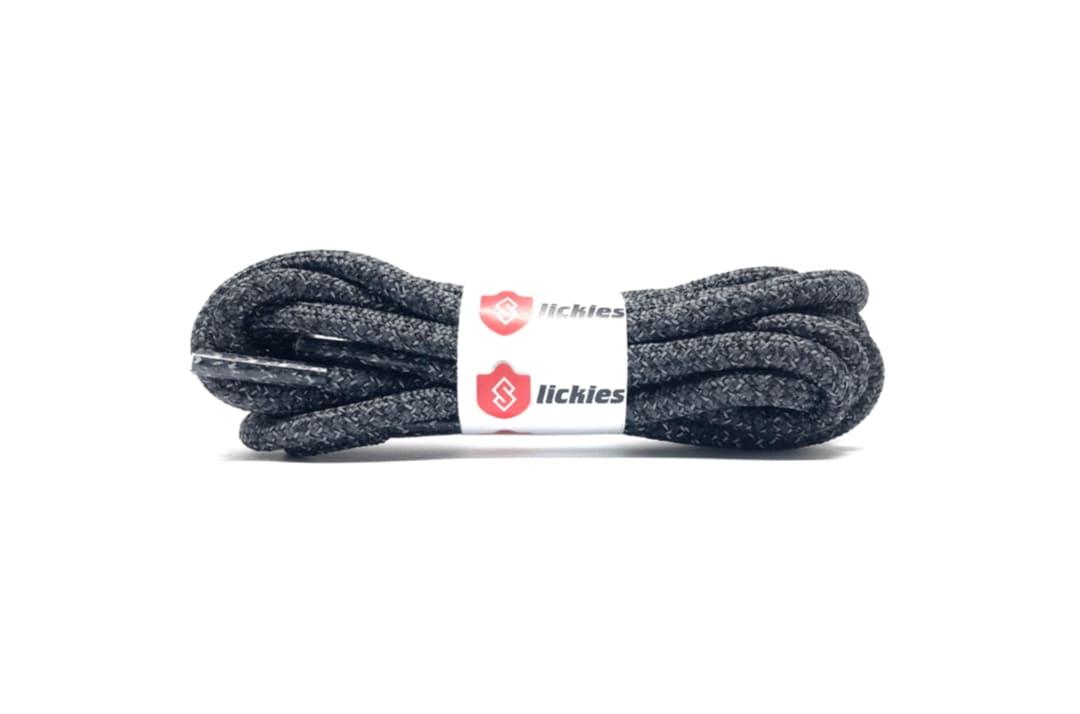 slide 1 - Reflective Rope Laces - Cinder / Yecheil / Black