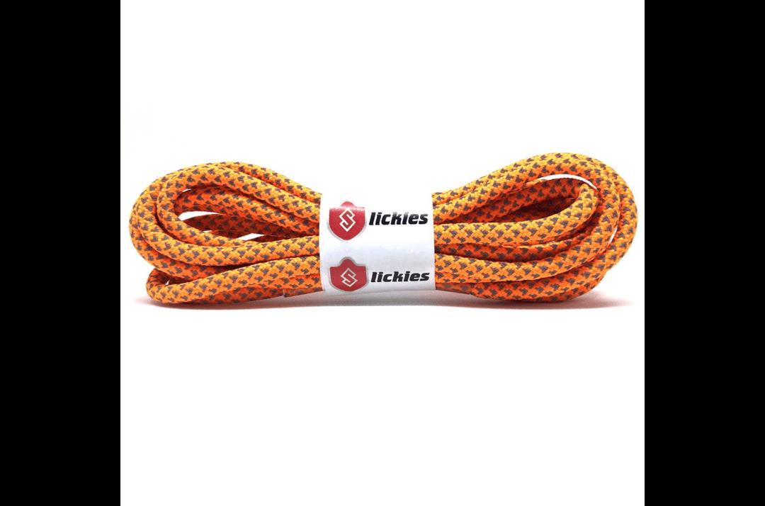 slide 1 - Reflective Rope Laces - Vibrant Orange