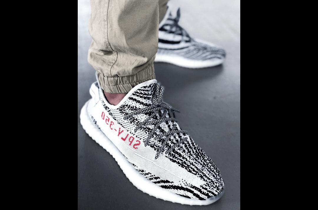 slide 2 - Reflective Rope Laces - Zebra