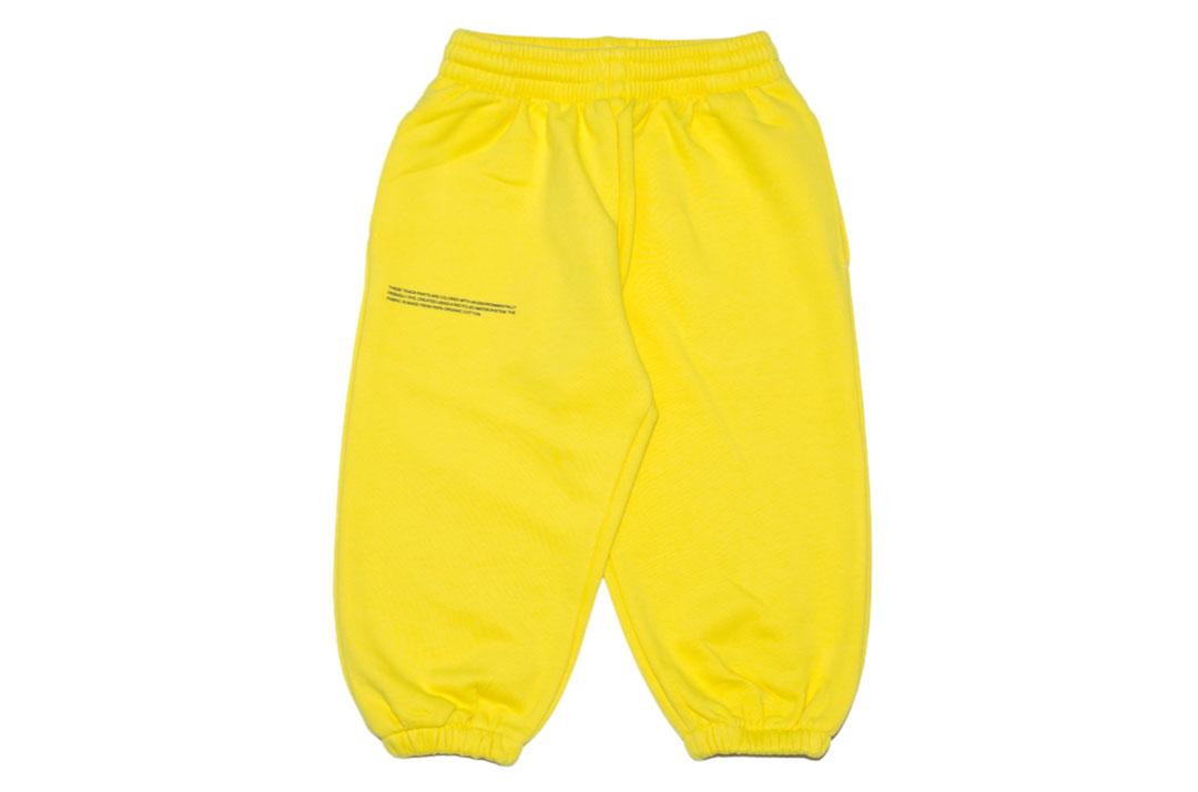 slide 1 - Saffron Yellow Organic Cotton Track Pants