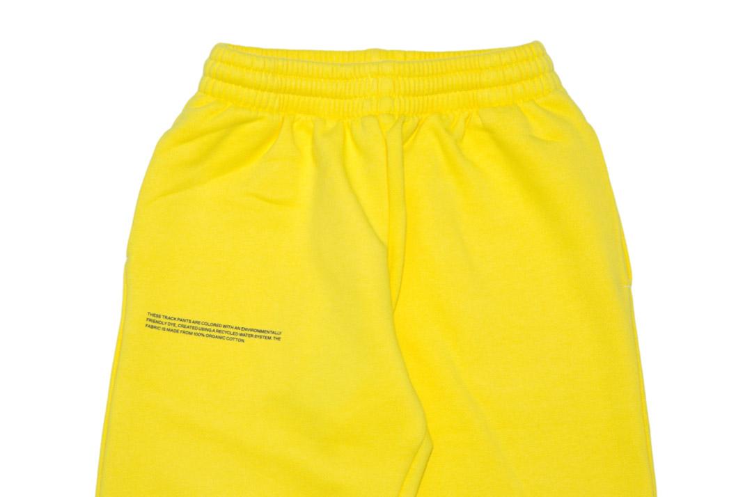 slide 2 - Saffron Yellow Organic Cotton Track Pants