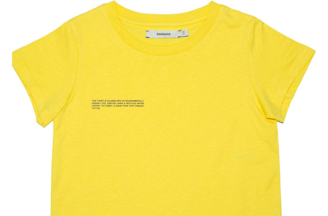 slide 2 - Saffron Yellow Organic Cotton Tshirt