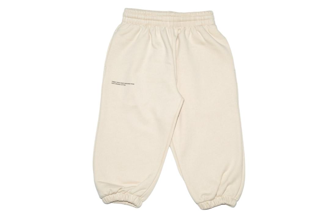 slide 1 - Sand Organic Cotton Track Pants