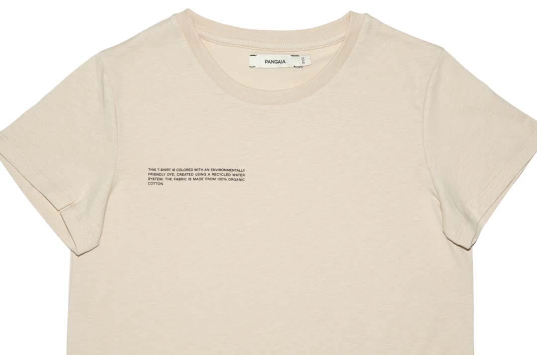 slide 2 - Sand Organic Cotton Tshirt