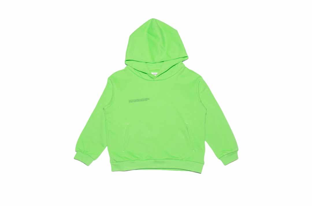 slide 1 - Seagrass Green Organic Cotton Hoodie