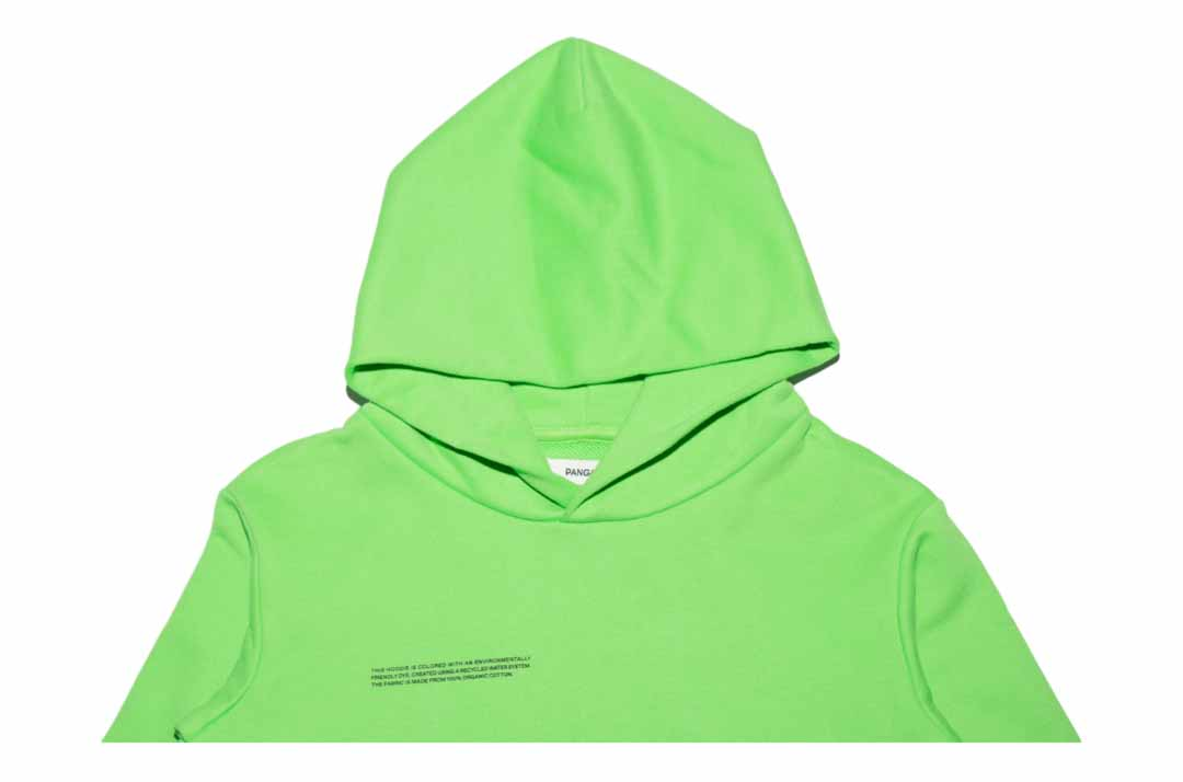 slide 2 - Seagrass Green Organic Cotton Hoodie