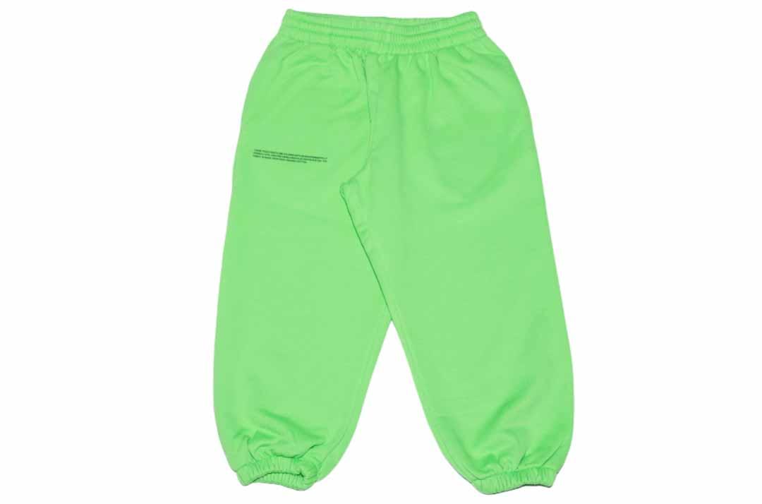 slide 1 - Seagrass Green Organic Cotton Track Pants
