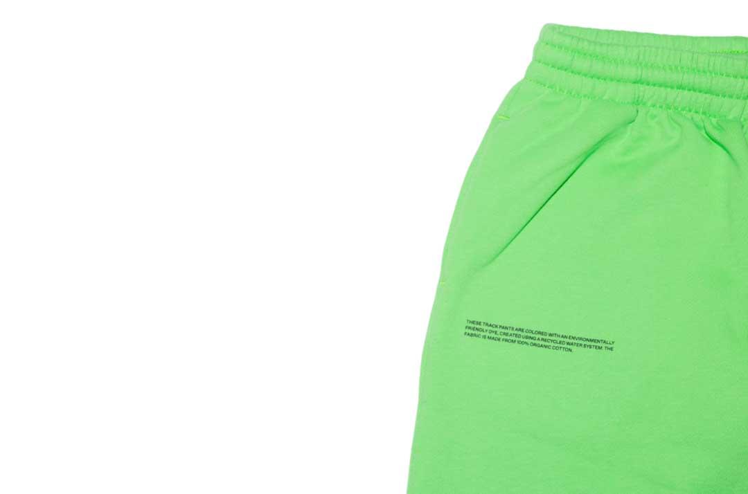 slide 2 - Seagrass Green Organic Cotton Track Pants