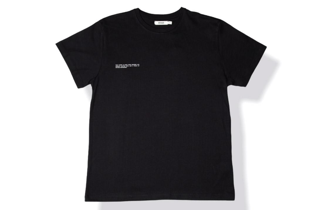 slide 1 - Seaweed Fiber Tshirt - Black