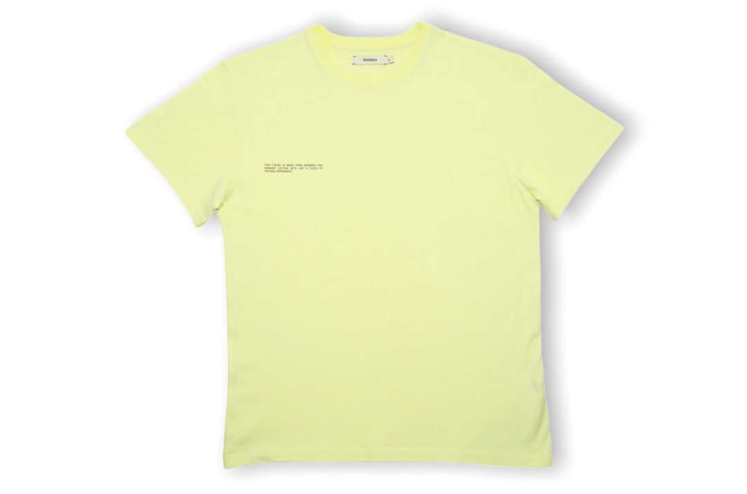 slide 1 - Seaweed Fiber Tshirt - Hay Yellow