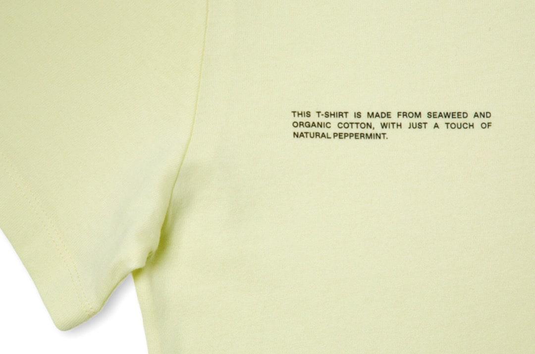 slide 2 - Seaweed Fiber Tshirt - Hay Yellow