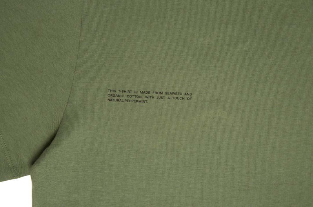 slide 2 - Seaweed Fiber Tshirt- Khaki