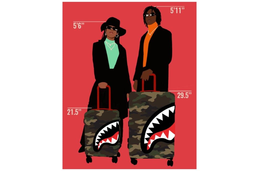 slide 13 - Sharknautics Carry-on Luggage