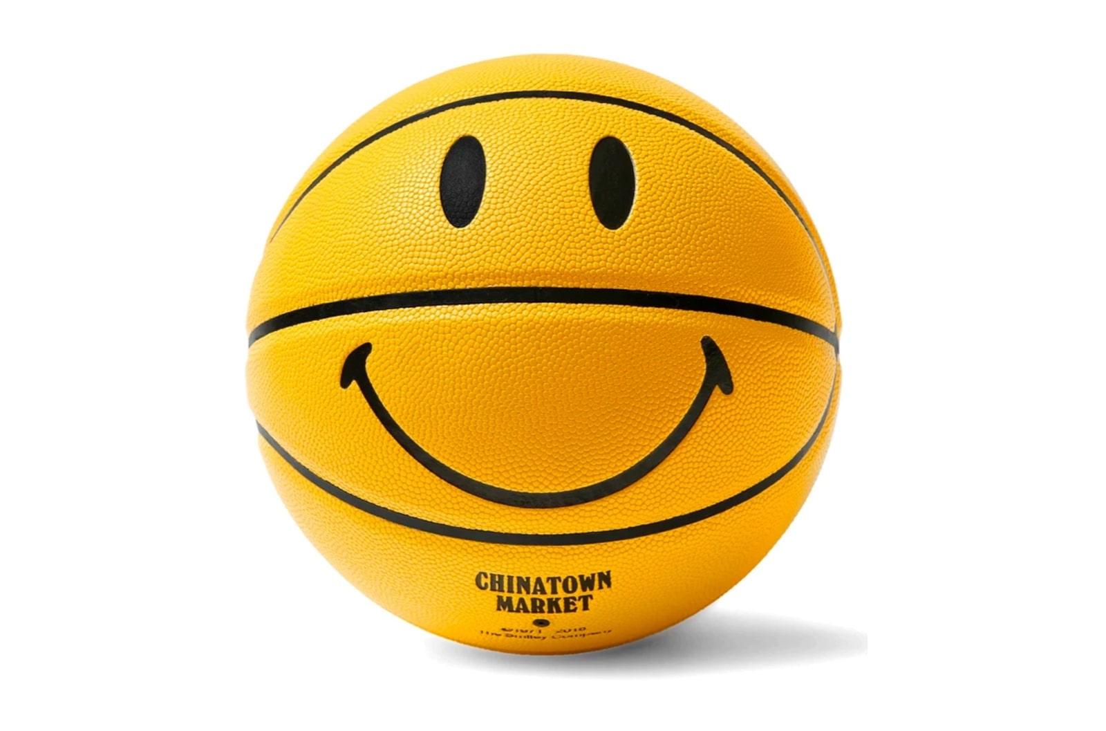slide 1 - Smiley Yellow Basketball