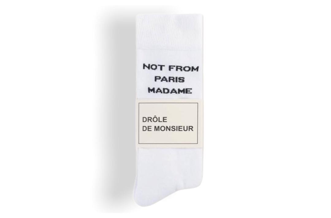 slide 2 - White NFPM Socks
