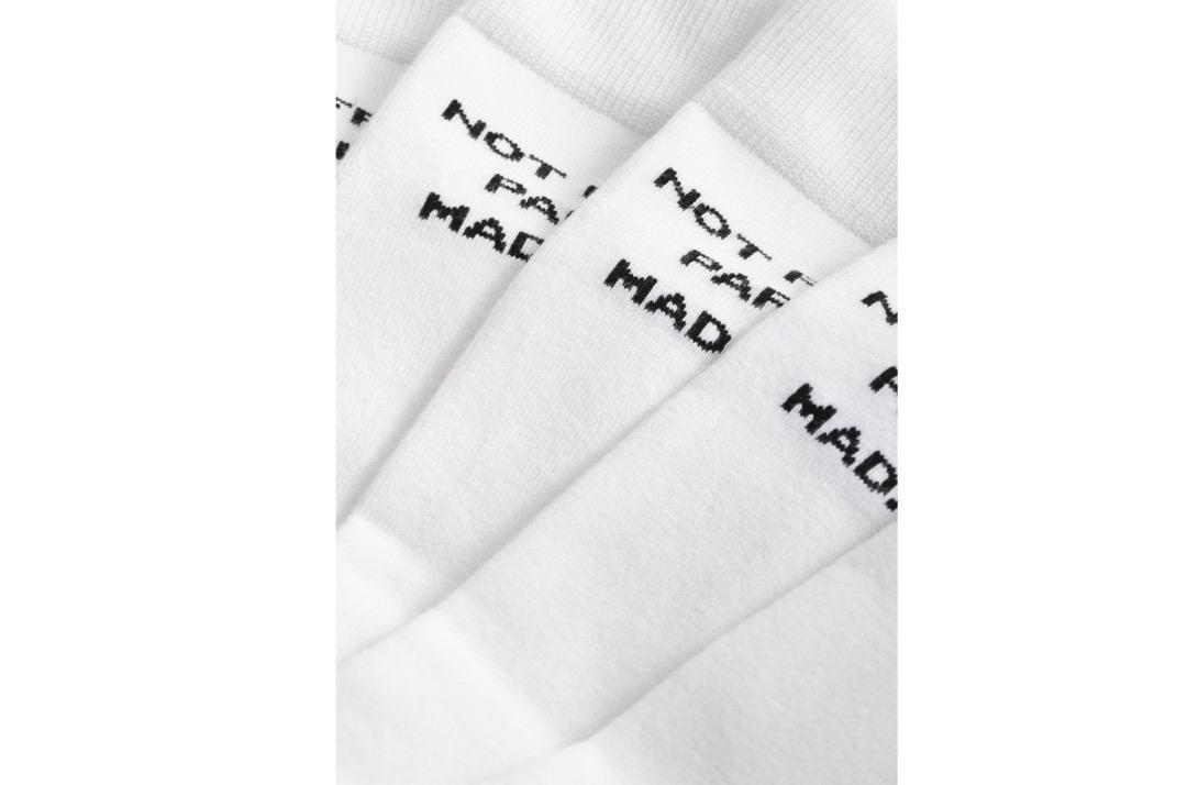 slide 3 - White NFPM Socks