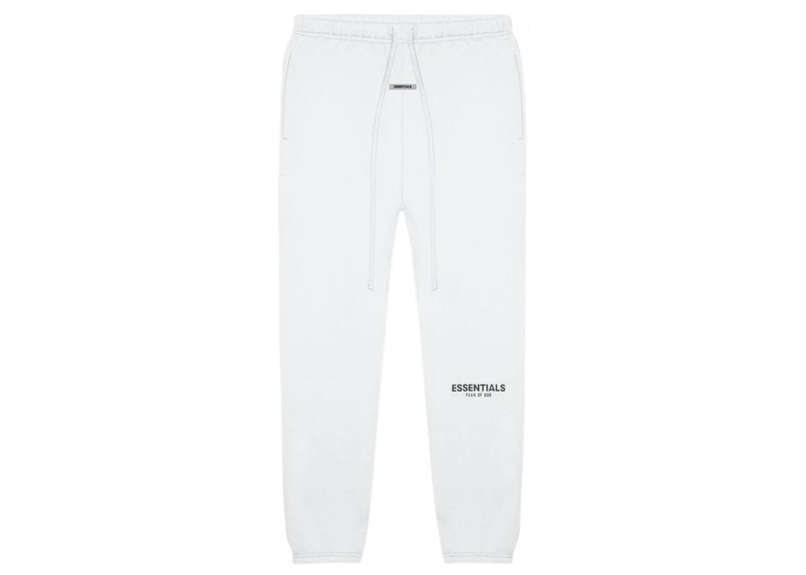 slide 1 - White Sweatpants